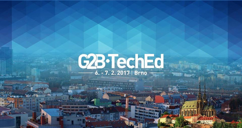 Konference G2B TechEd, Brno 6.–7. února 2017
