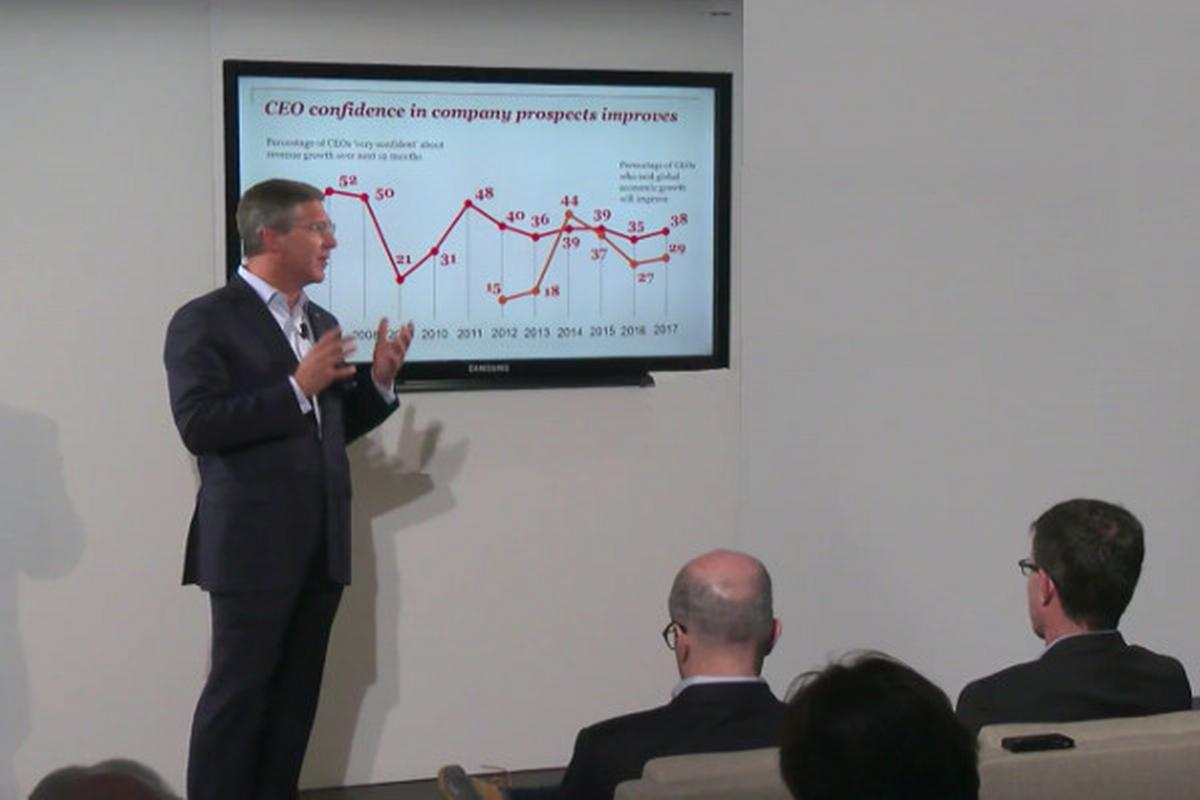 Bob Moritz, Global Chairman PwC, Davos, 16.1.2017