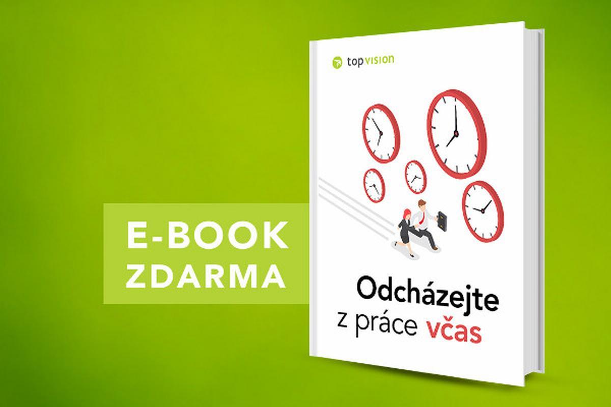 e-book Odcházejte z práce včas