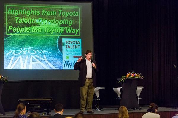 David Meier, autor knihy Toyota Talent a hlavní řečník loňského ročníku konference Světová laboratoř lídrů