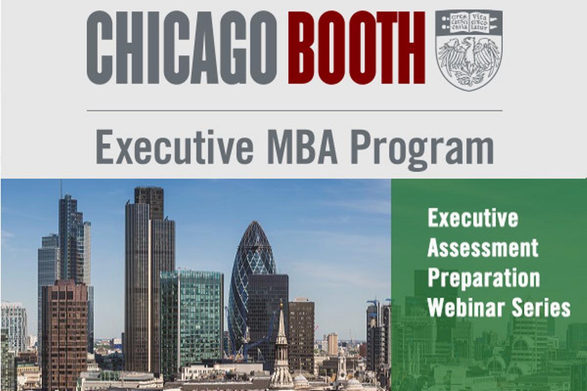 Série webinářů pro přípravu na studium MBA na University of Chicago Booth School of Business