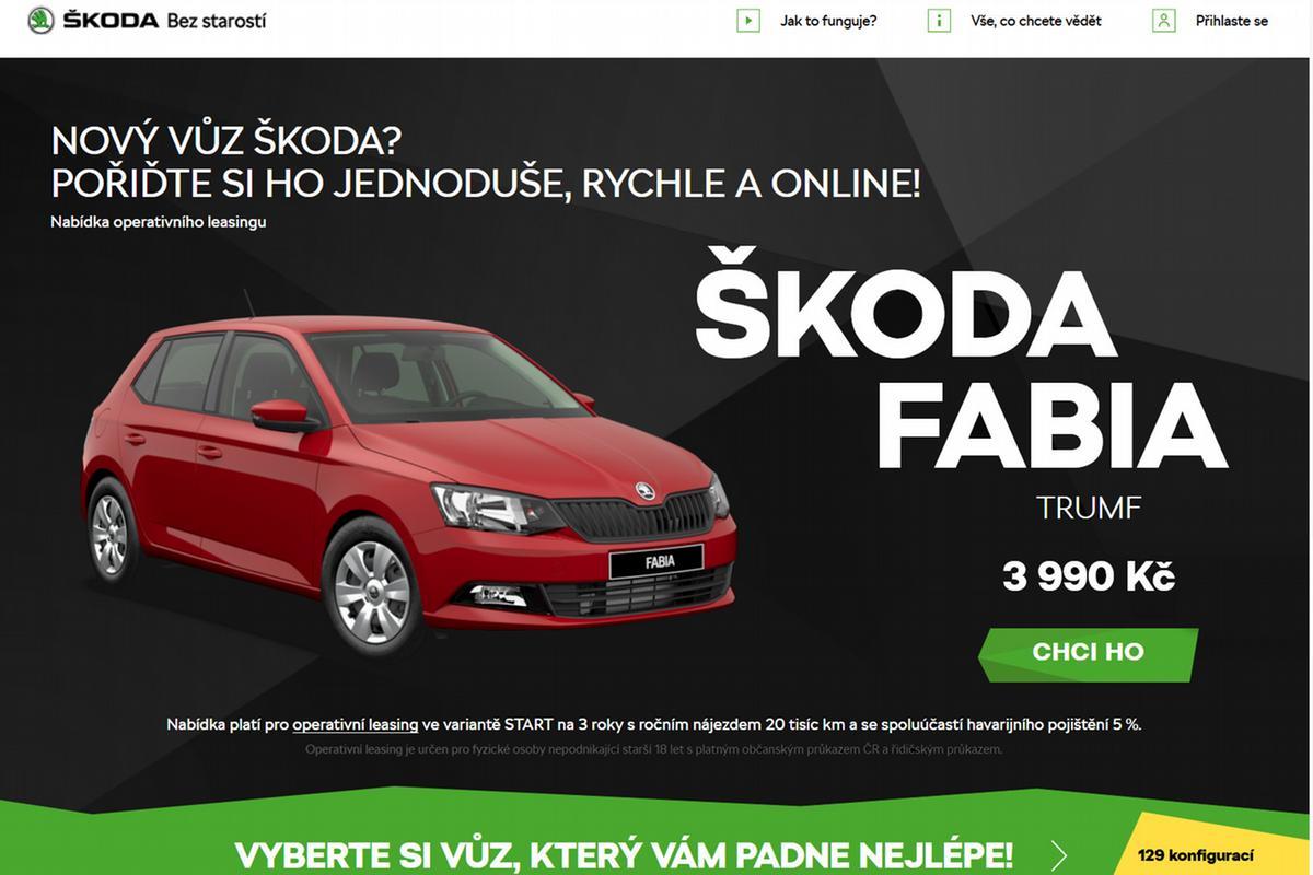 e-shop Škoda Online