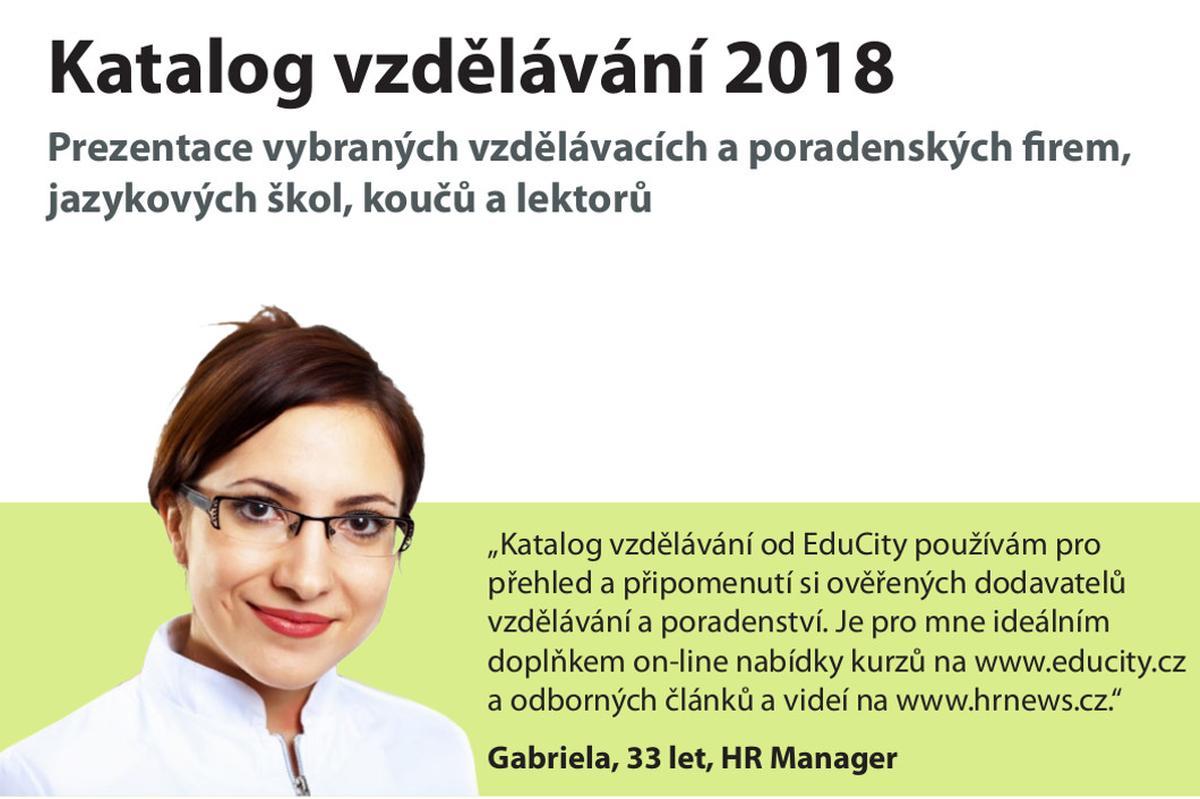 Katalog vzdělávání 2018