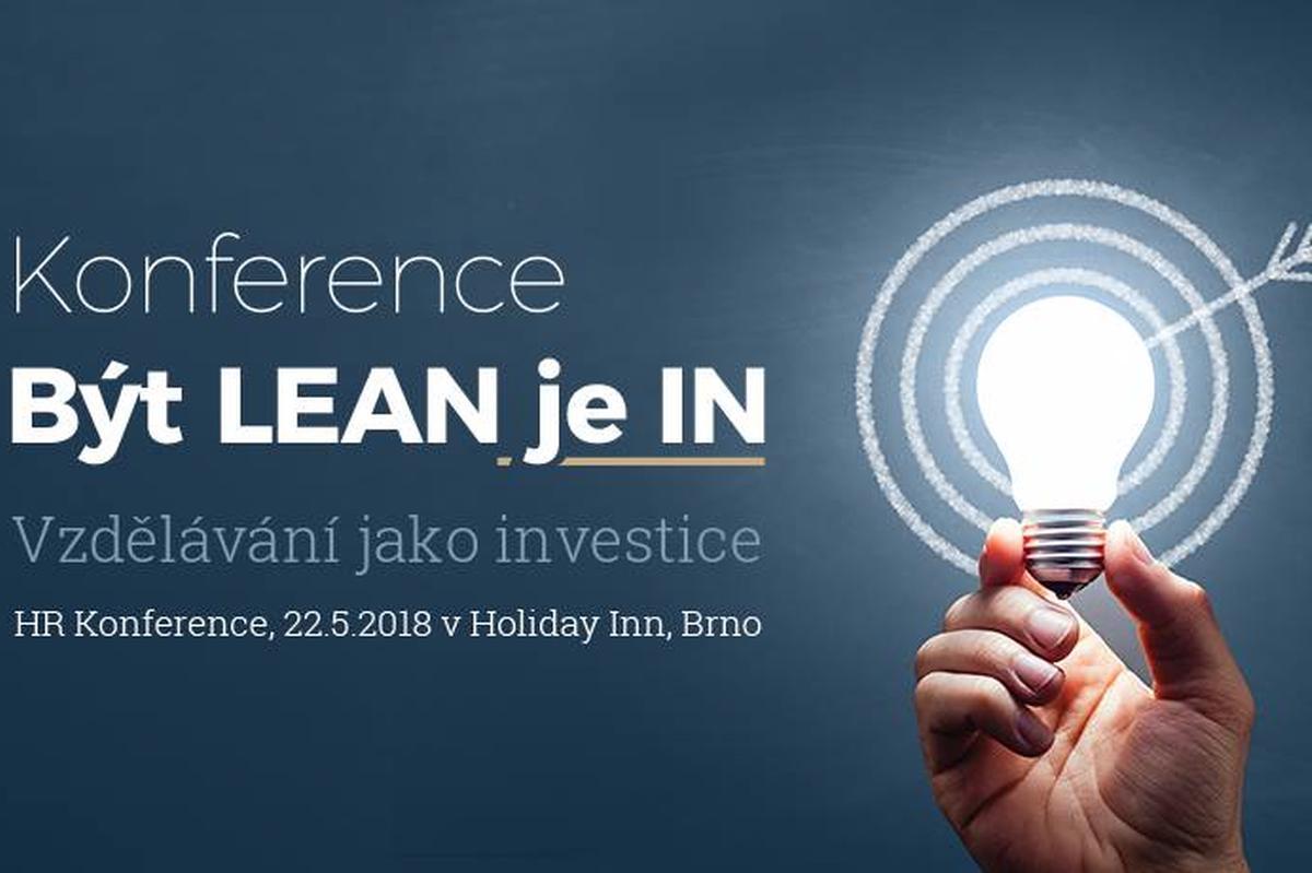 HR Konference Být LEAN je IN 2018 vBrně