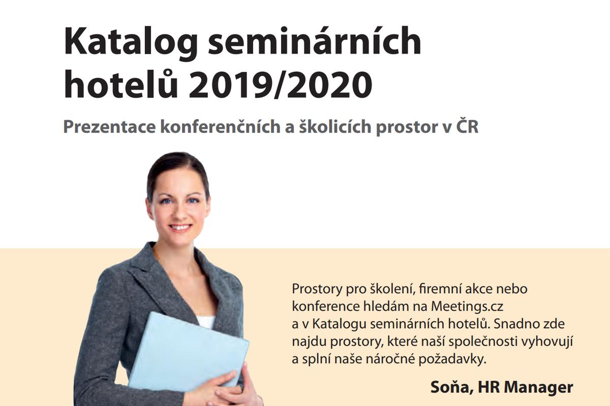 Katalog seminárních hotelů 2019