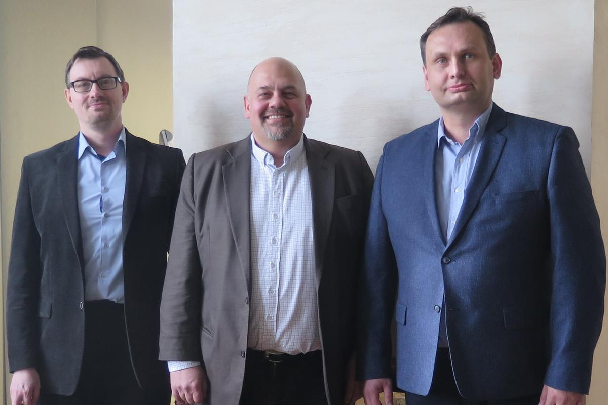 Pavel Kovář, Daniel Kurucz, Václav Zahrádka